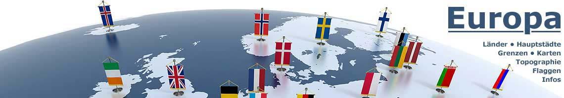 Europakarte Politisch Länder
