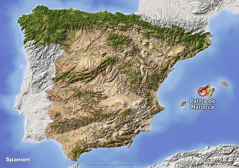 Klima Palma De Mallorca Spanien Klimatabelle Klimadiagramm Palma