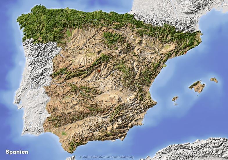 Spanische Karte.Klima Spanien Klimatabellen Und Klimadiagramme Spanien