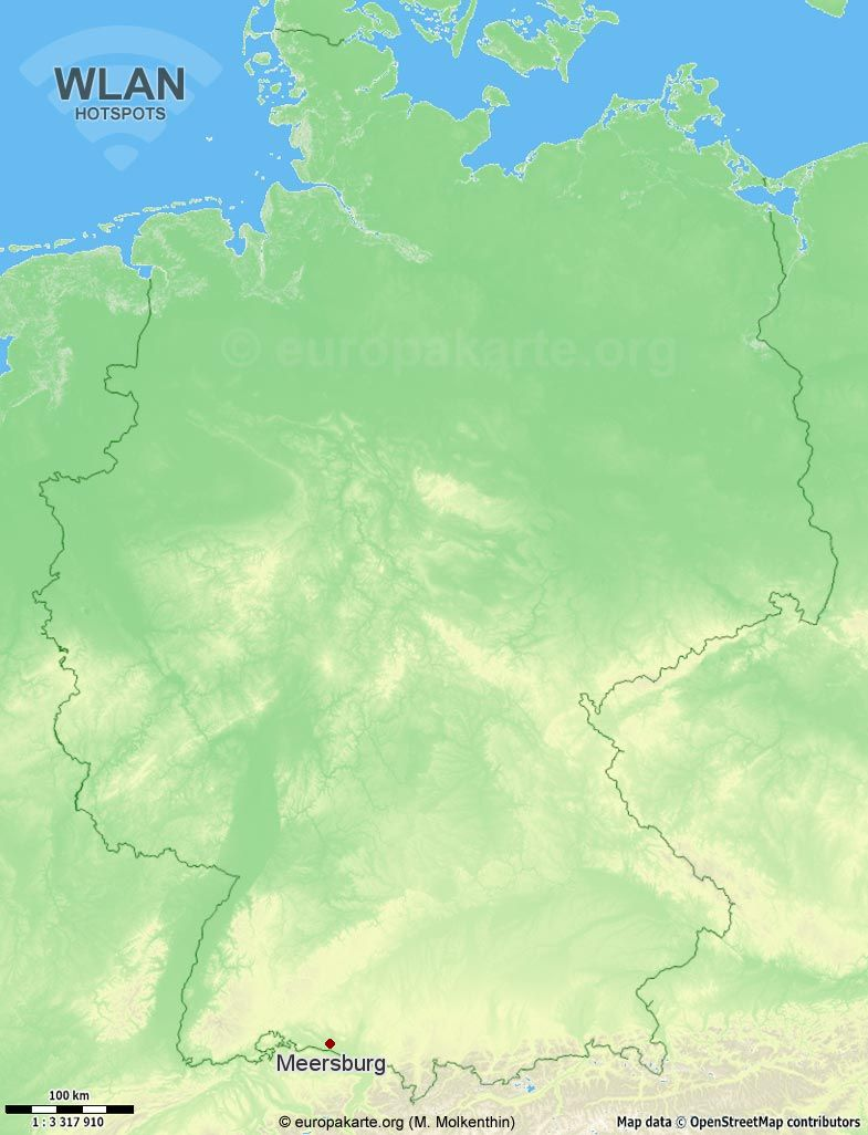 WLAN-Hotspots in Meersburg (Baden-Württemberg)