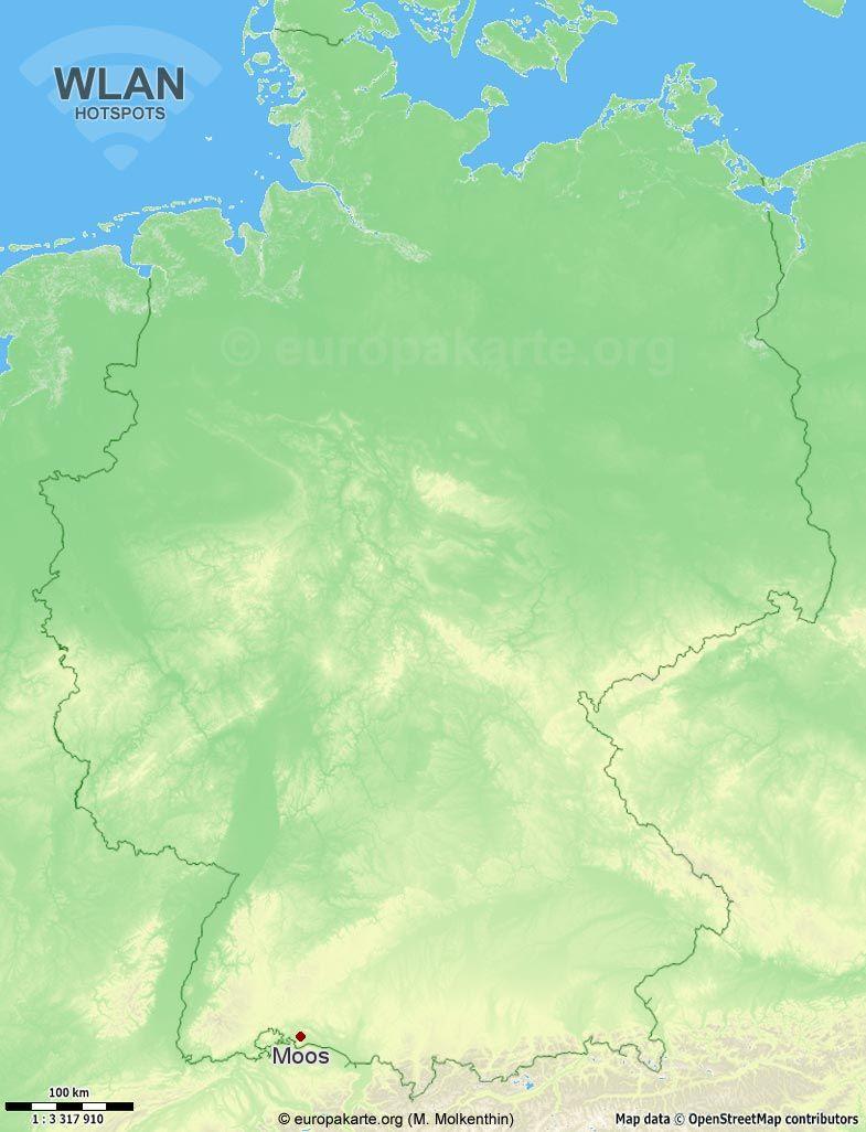 WLAN-Hotspots in Moos (Baden-Württemberg)