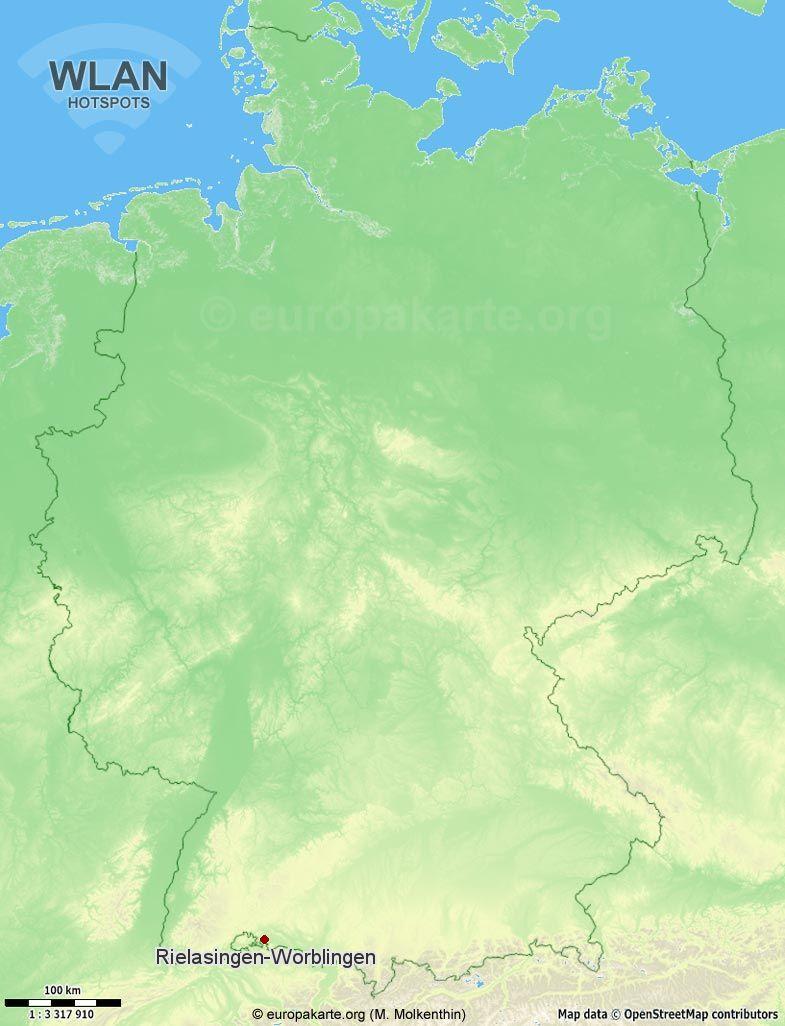 WLAN-Hotspots in Rielasingen-Worblingen (Baden-Württemberg)