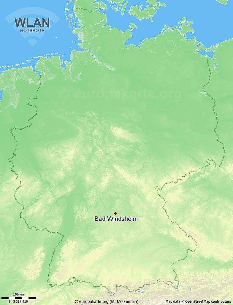 WLAN-Hotspots in Bad Windsheim (Bayern)