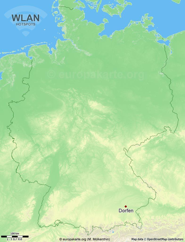 WLAN-Hotspots in Dorfen (Bayern)
