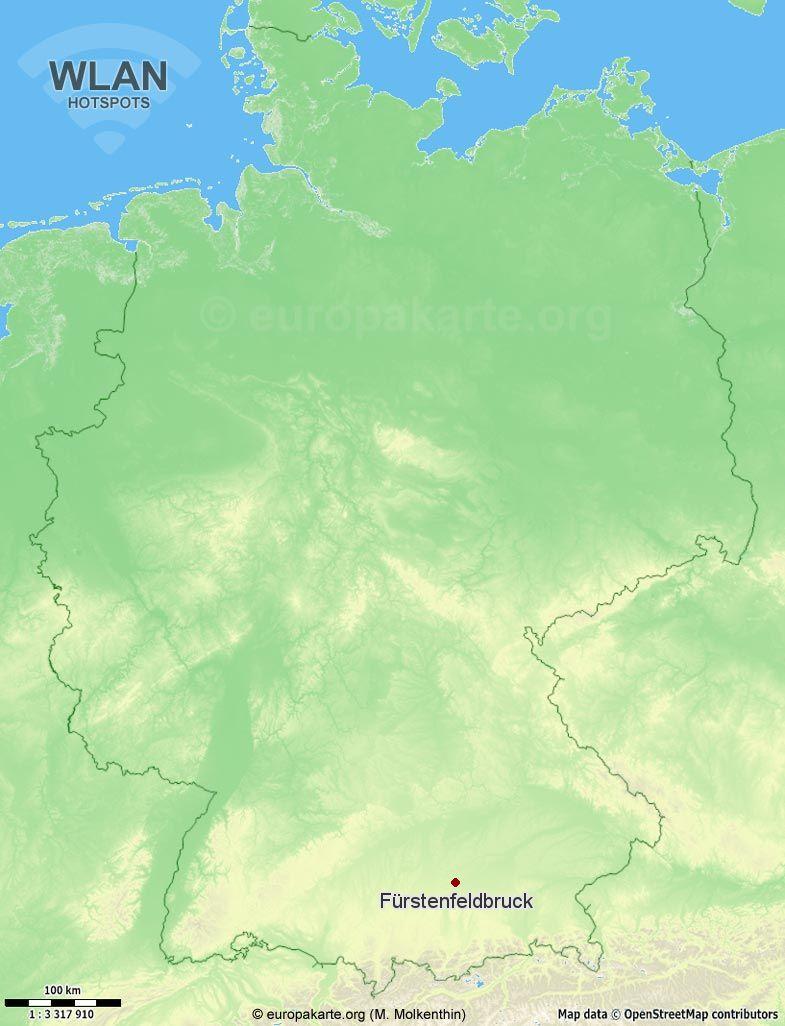 WLAN-Hotspots in Fürstenfeldbruck (Bayern)