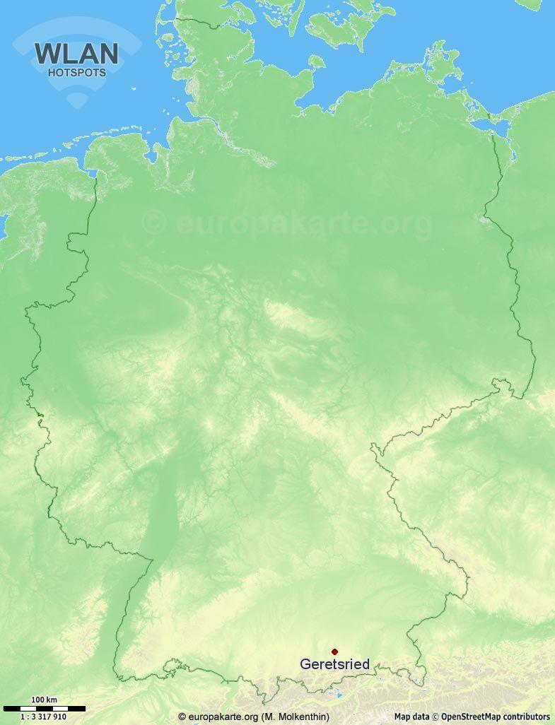 WLAN-Hotspots in Geretsried (Bayern)
