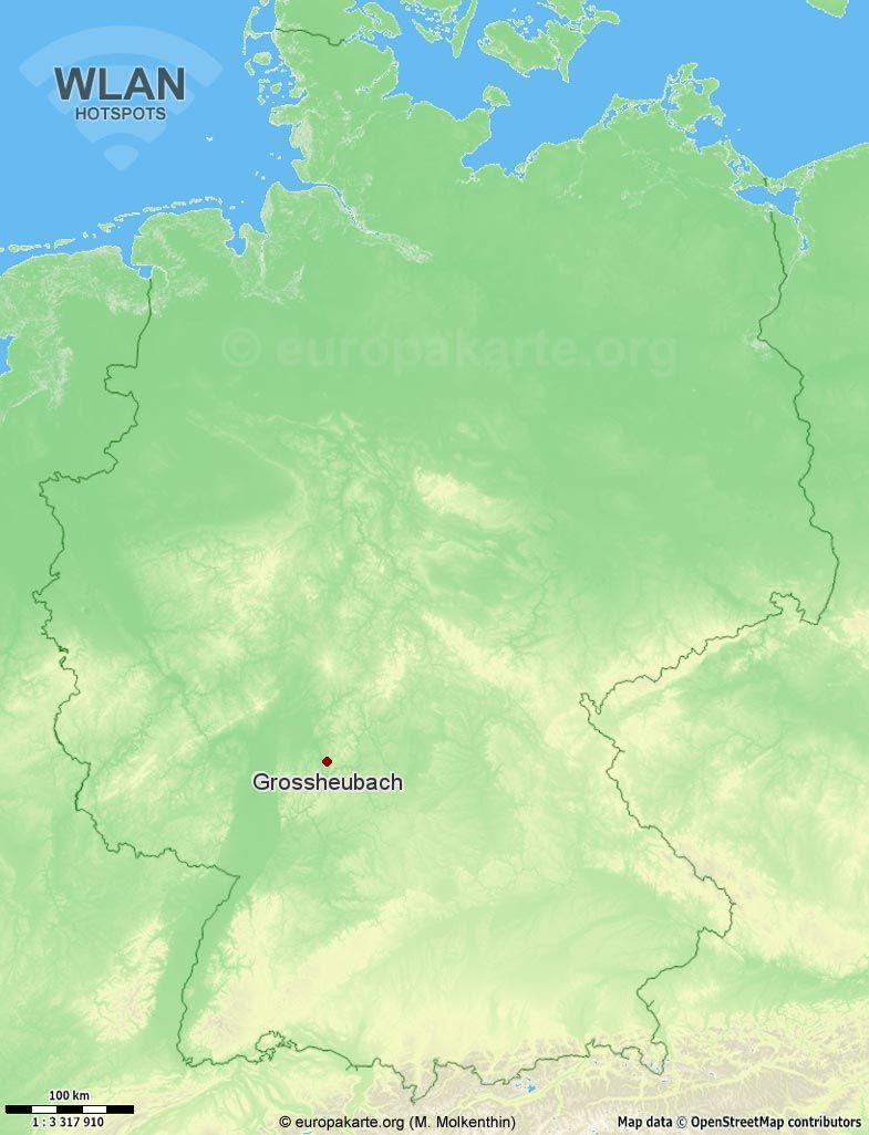 WLAN-Hotspots in Grossheubach (Bayern)