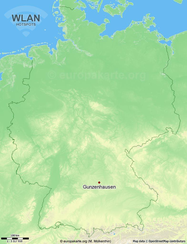 WLAN-Hotspots in Gunzenhausen (Bayern)