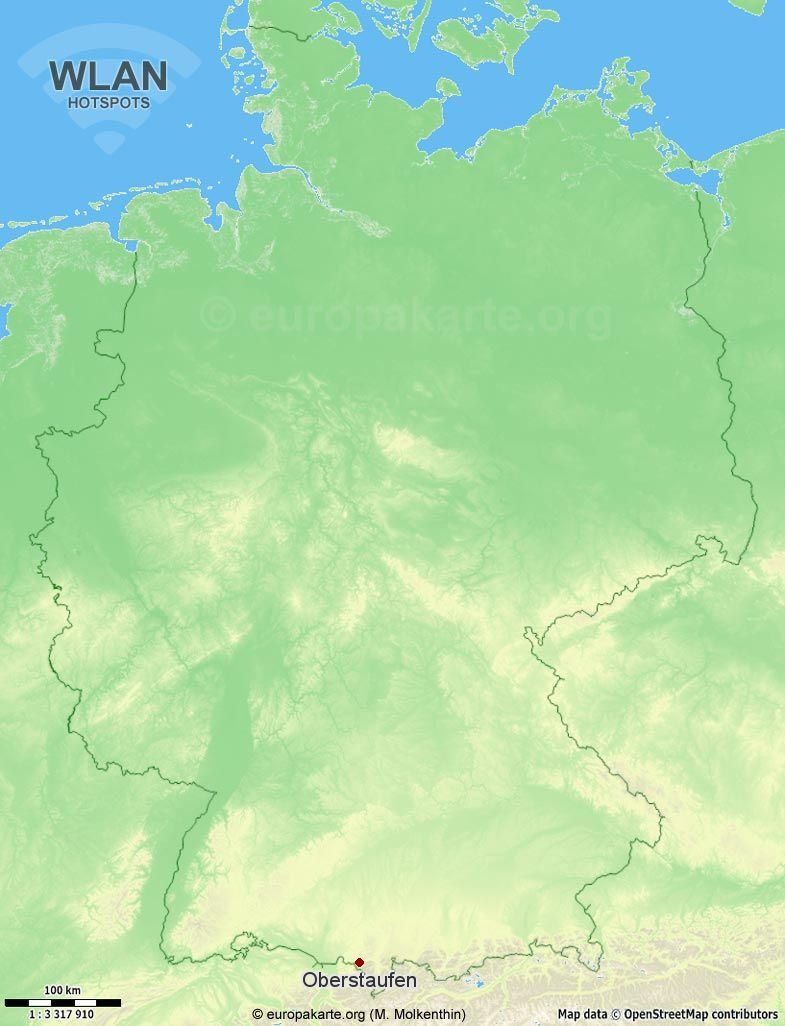 WLAN-Hotspots in Oberstaufen (Bayern)