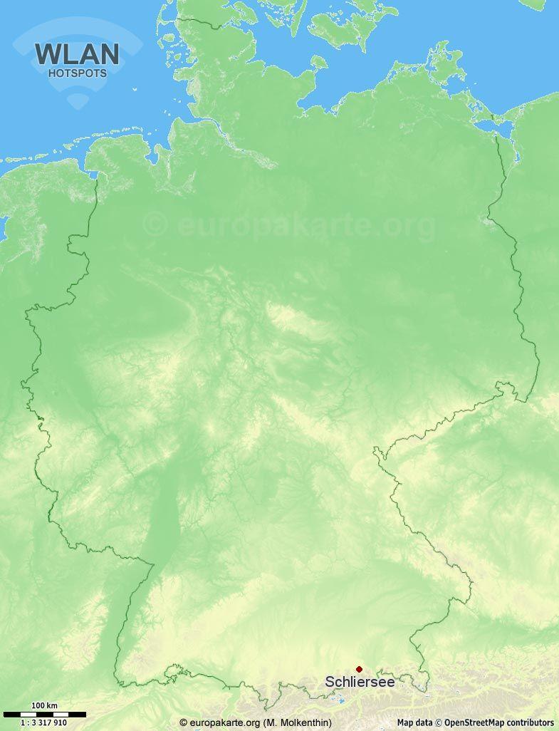 WLAN-Hotspots in Schliersee (Bayern)