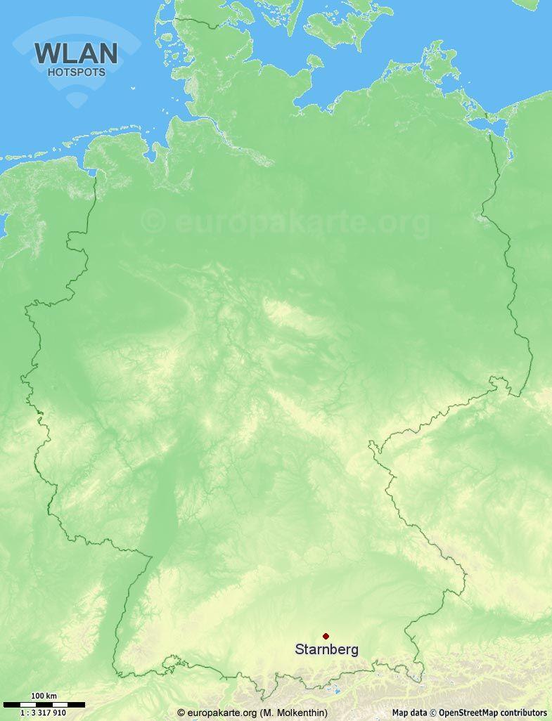 WLAN-Hotspots in Starnberg (Bayern)