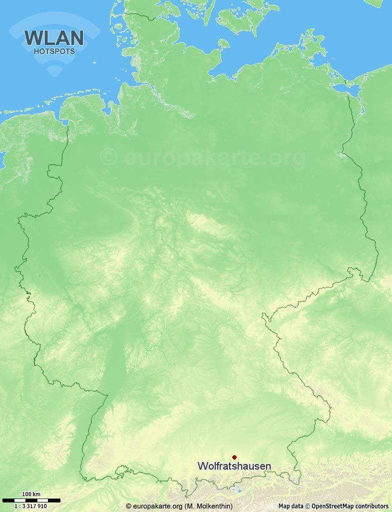 WLAN-Hotspots in Wolfratshausen (Bayern)