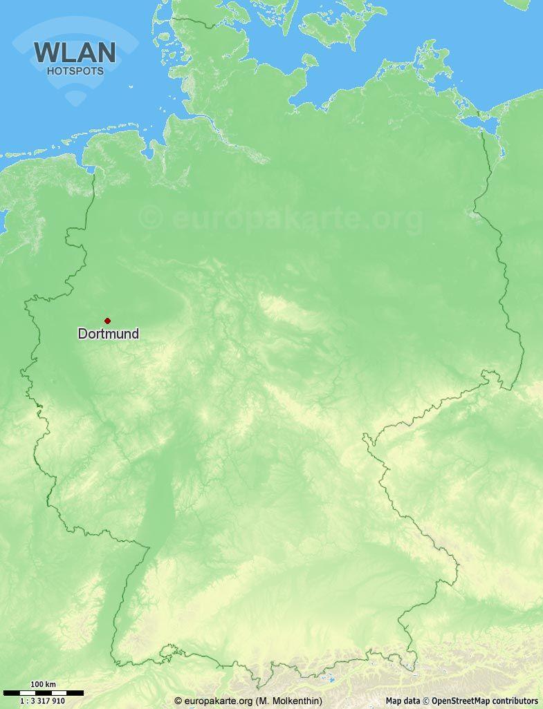 WLAN-Hotspots in Dortmund (Nordrhein-Westfalen)