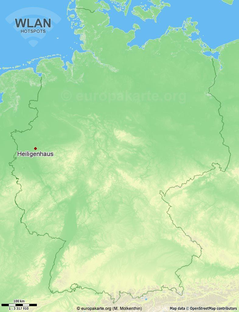 WLAN-Hotspots in Heiligenhaus (Nordrhein-Westfalen)