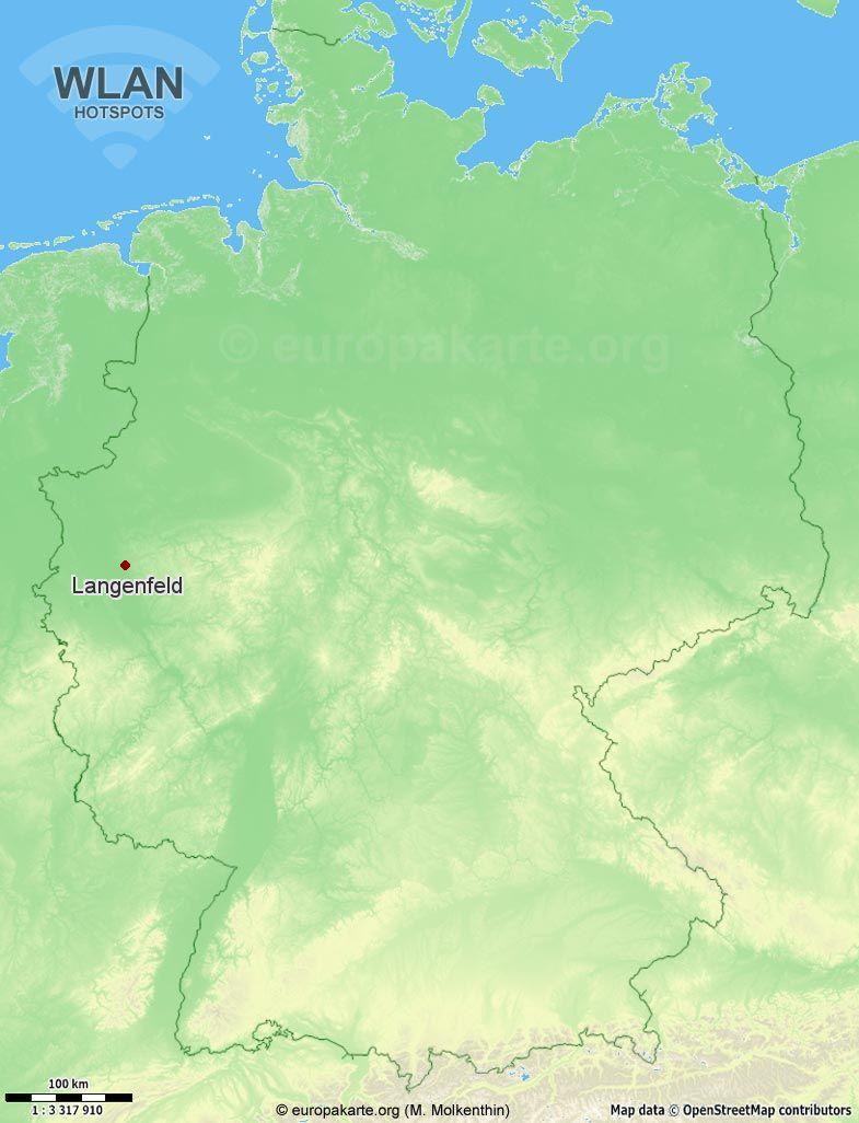 WLAN-Hotspots in Langenfeld (Nordrhein-Westfalen)